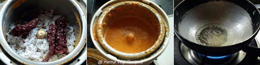 Bitter Gourd Curry or Hagalakai Gojju Preparation