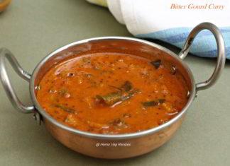 Bitter Gourd Curry or Hagalakai Gojju