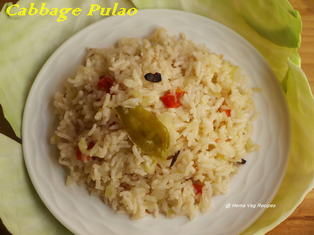 Cabbage Pulao