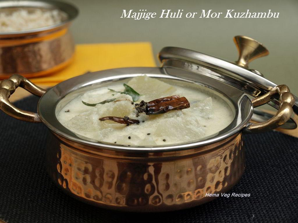 Majjige Huli or Mor Kuzhambu