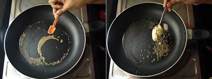 Mooli Paratha Preparation