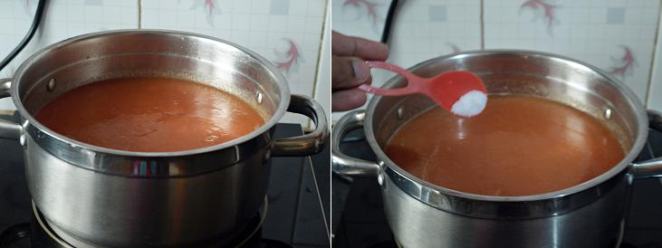 Tomato Soup Preparation