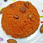 Carrot Halwa or Gajar Halwa