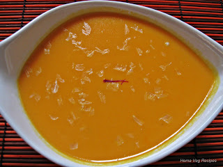 Carrot Kheer or Payasam