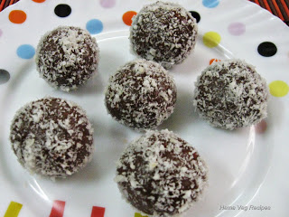 Chocolate Biscuit Ball