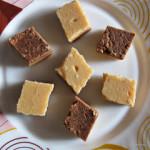 Fresh Cream Burfi / Halu Kene Burfi / Malai Burfi