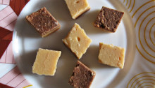 Chocolate Milk Cream Burfi