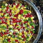 Corn Pomegranate Kosambari Salad