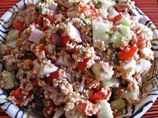 Greek Salad or Tabbouleh