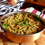 Green Lentil Curry or Mung Bean Curry