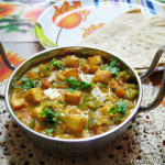 Kadai Paneer or Paneer Capsicum Curry