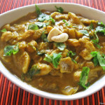 Kaju Curry or Cashew Nut Curry – version 1