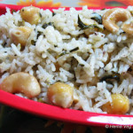 Methi Channa Pulao/Pulav