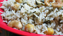 Methi Channa Pulao Pulav