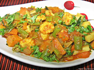 Mixed Vegetable Sabji