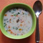 Oats Vegetable Soup
