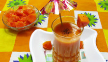 Papaya Milk Shake