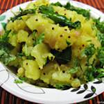 Aloo Sabzi/Sabji or Potato Sabzi/Sabji