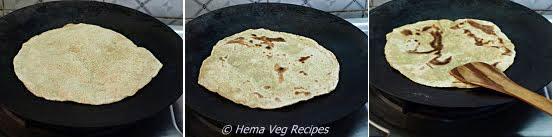 Chapati Preparation