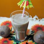 Chikoo or Sapota Milkshake