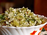 Cabbage-Capsicum Sabji
