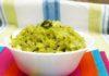 Cabbage Sabji - Using Coriander Leaves