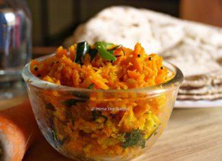 Carrot Sabji
