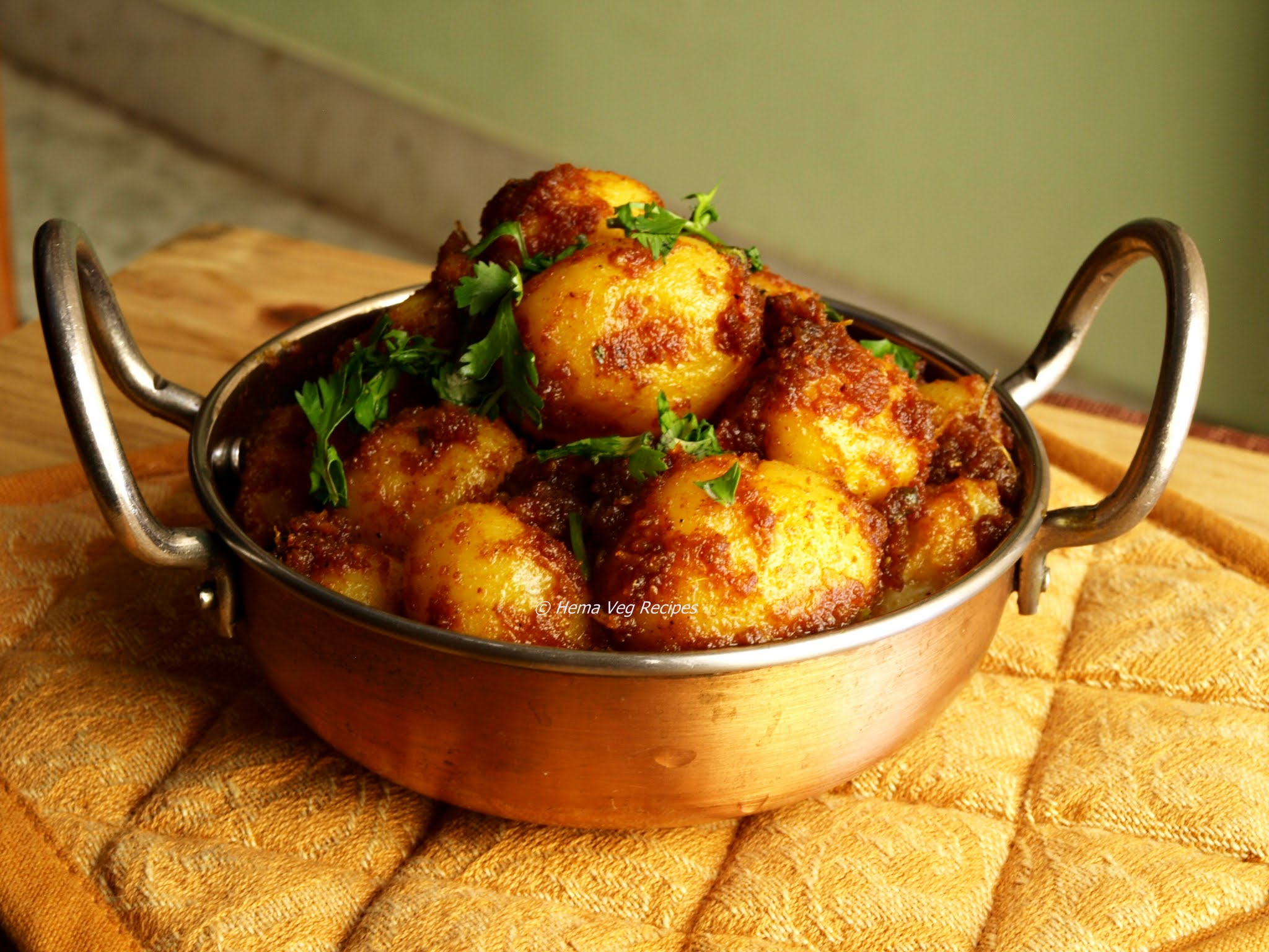 Baby Potato Curry or Fry