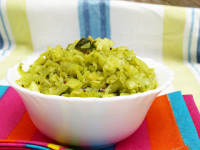 Cabbage Sabji - Using Coriander Leaves