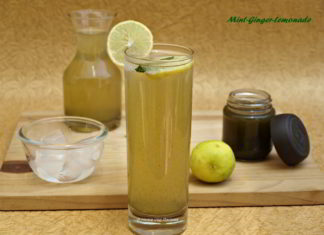 Mint-Ginger-Lemonade