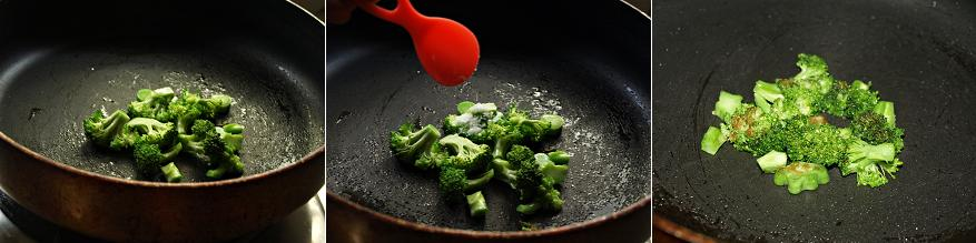Sauteed Broccoli Preparation