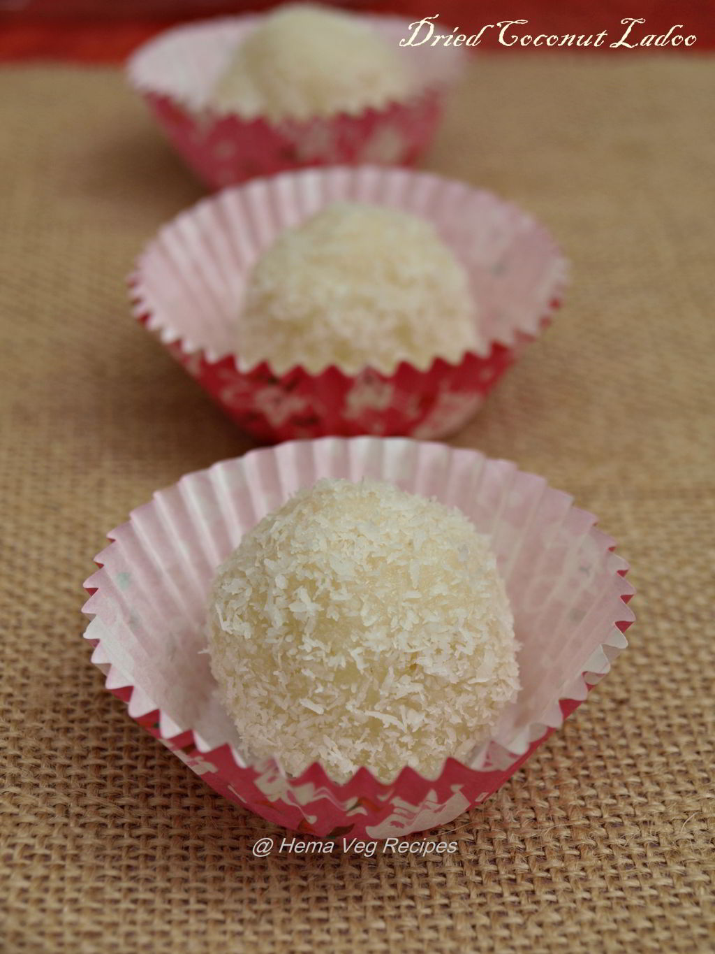 Dried Coconut Ladoo