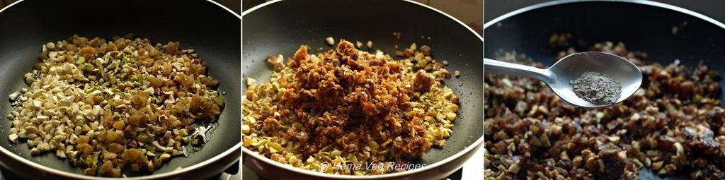 Dry Fruits Laddu - Sugarless Preparation