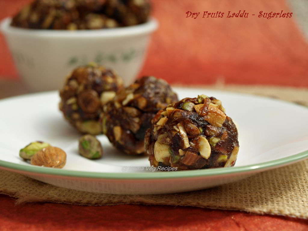 Dry Fruits Laddu - Sugarless