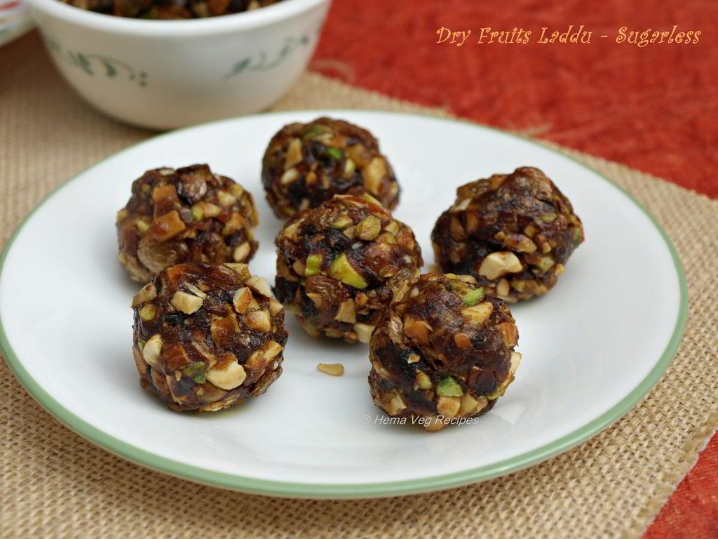 Dry Fruits Laddu - Sugarless