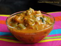 Tomato Capsicum Curry