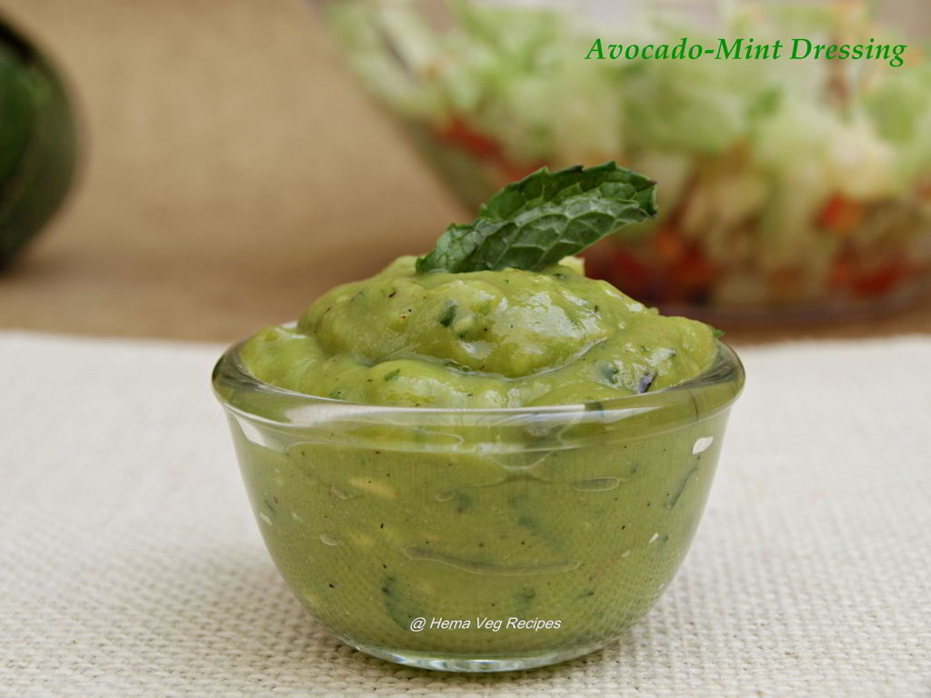 Avocado-Mint Dressing