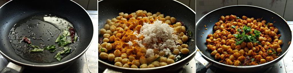 Masala Channa Usli Preparation
