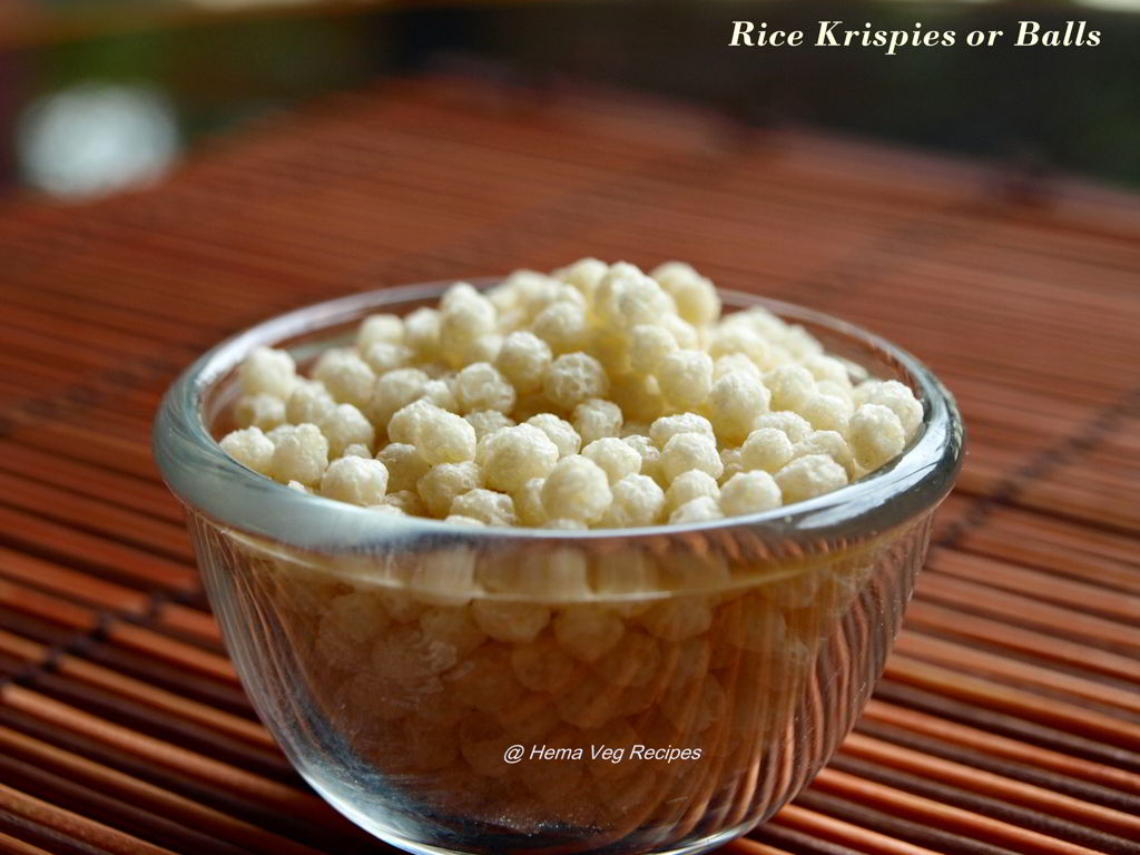 Rice Balls or Krispies