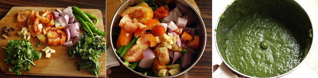 Vegetable Pulao Preparation