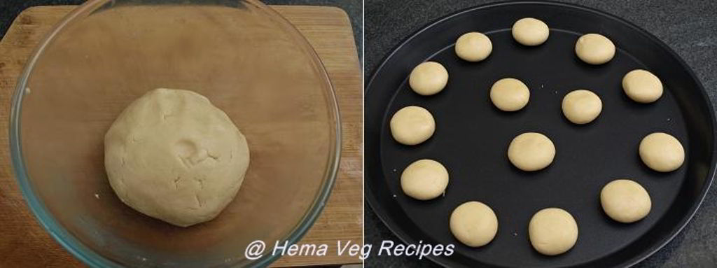 Eggless Butter Cookies Preparation