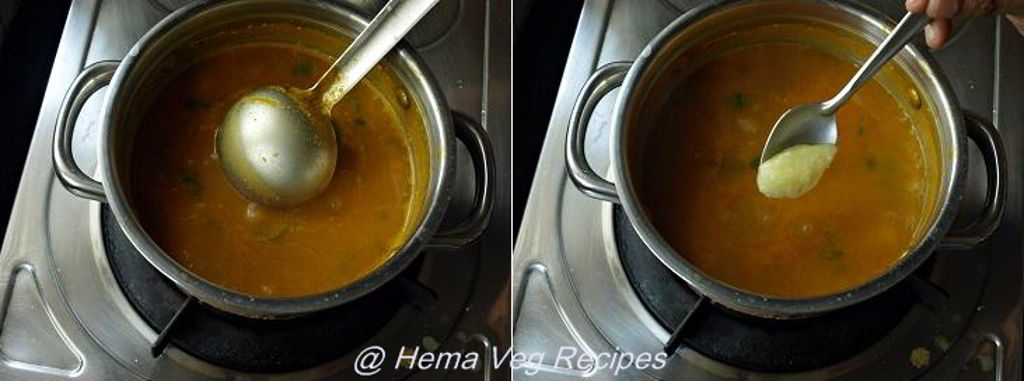 Instant Toor Dal Rasam Preparation