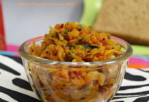 Onion-Tomato-Carrot Sabji