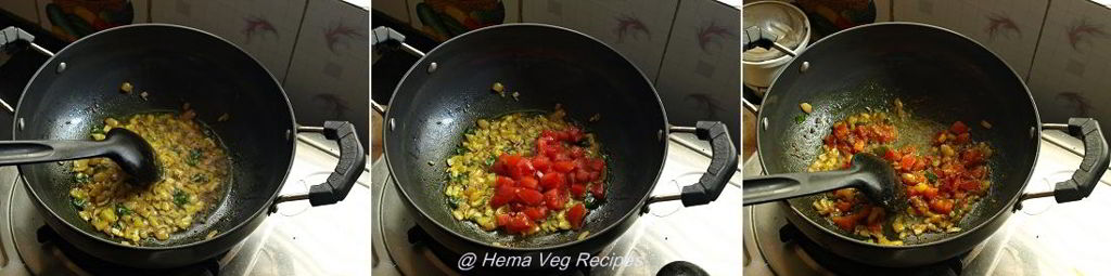Ridge Gourd Curry Preparation