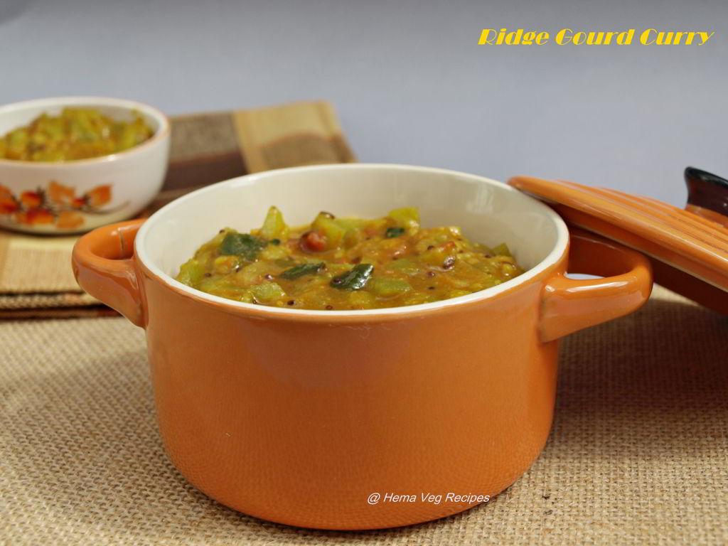 Ridge Gourd Curry