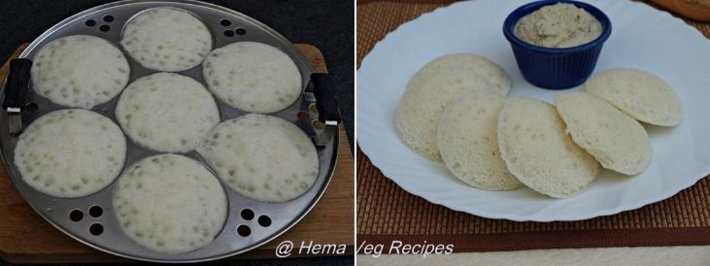 Sabudana Idli or Sago Idli Preparation