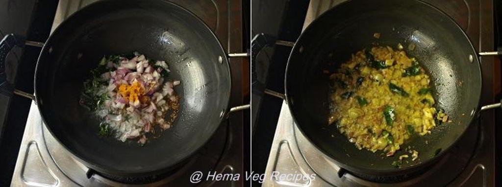 Capsicum Masala Curry Preparation