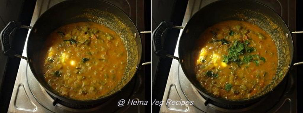 Capsicum Masala Curry Preparation