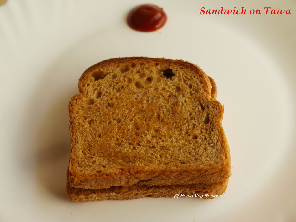 Sandwich on Tawa