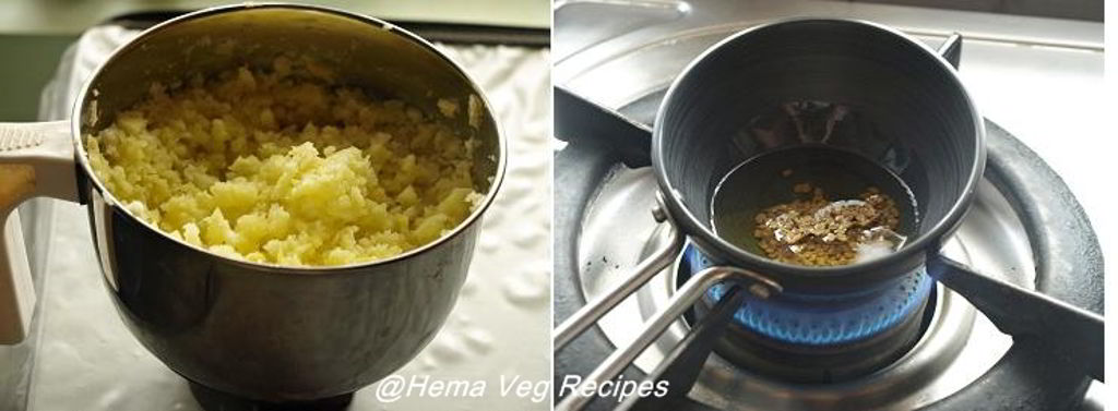 Sweet Raw Mango Tokku or Chutney Preparation